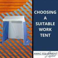 Choosing a Suitable Work Tent